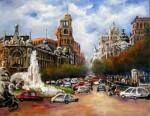 Obras de arte: Europa : España : Madrid : Las_Rozas : Calle de Alcalá. Madrid