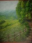 Obras de arte: Europa : Espa�a : Madrid : Madrid_ciudad : verde pradera