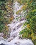Obras de arte: Europa : España : Madrid : Madrid_ciudad : torrente de agua