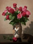 Obras de arte: Asia : Georgia : Shida_Kartli : Tbilisi : Rosas