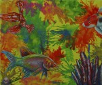 Obras de arte: America : México : Tabasco : Huimanguillo : Acuatic Colors 1