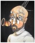 Obras de arte: America : México : Tabasco : Villahermosa : Autorretrato, si veo no escucho bien
