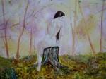 Obras de arte: Europa : España : Catalunya_Barcelona : Barcelona : Dama en el bosque.