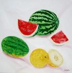 Obras de arte: Europa : España : Catalunya_Barcelona : Barcelona : frutas 1