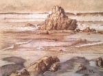 Obras de arte: Europa : España : Euskadi_Bizkaia : barakaldo : Peñon Sopelana 2