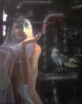 Obras de arte: America : Argentina : Buenos_Aires : Capital_Federal : La novia,el pájaro y el secreto en el sótano
