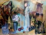 Obras de arte: America : Argentina : Buenos_Aires : Capital_Federal : Las manzanas del cielo