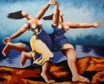 Obras de arte: America : Colombia : Antioquia : Medellin : La carrera - Picasso. Serie REFERENTES
