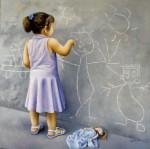 Obras de arte: Europa : España : Catalunya_Girona : olot : La petita artista