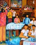 Obras de arte: Europa : España : Galicia_Pontevedra : pontevedra : LA NOCHE