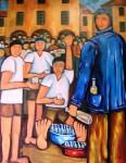Obras de arte: Europa : España : Galicia_Pontevedra : pontevedra : BOTELLON