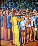 Obras de arte: Europa : España : Galicia_Pontevedra : pontevedra : ROMERIA