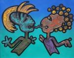 Obras de arte:  : México : Queretaro_de_Arteaga : Centro-Queretaro : EL BUEN DIALOGO