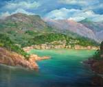 Obras de arte:  : España : Islas_Baleares : palma_de_mallorca : Entrada al puerto de Sóller