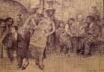 Obras de arte: America : Argentina : Buenos_Aires : Ciudad_de_Buenos_Aires : Rodolfo Valentino y un Tango