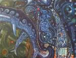 Obras de arte: America : Perú : Lima : la_molina : ballenas