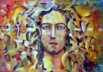 Obras de arte: America : Colombia : Antioquia : Medellin : Y EL VERBO SE HIZO COLOR