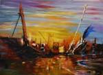 Obras de arte: Europa : España : Aragón_Zaragoza : zaragoza_ciudad : Impresión en el mar