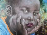 Obras de arte:  : Colombia : Antioquia : Medellin : Niño pensativo