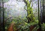 Obras de arte: Europa : España : Catalunya_Barcelona : Cervelló : El pensador del bosque