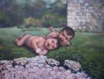 Obras de arte: Europa : España : Catalunya_Barcelona : Cervelló : El jardín de la Esperanza