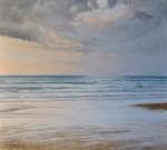 Obras de arte:  : España : Andalucía_Cádiz : puerto-real : A orilla del mar_invierno