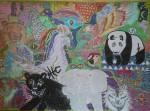 Obras de arte:  : España : Madrid : fuenlabrada : Animales Sagrados