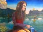 Obras de arte:  : México : Nuevo_Leon : Santiago_ciudad : La Dama del Lago
