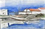 Obras de arte:  : Italia : Veneto :  : Rio Barbate di notte