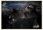 Obras de arte: America : Cuba : Camaguey : Camaguey_ciudad : Caballo negro