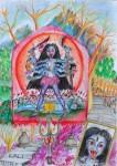 Obras de arte:  : Italia : Veneto :  : Kali Temple in Dulikheli