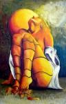 Obras de arte: America : México : Mexico_Distrito-Federal : Centro : woman