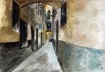 Obras de arte: Europa : España : Catalunya_Barcelona : Castelldefels : Calle de La Ribera