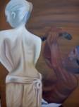 Obras de arte:  : Argentina : Buenos_Aires : Lomas_de_Zamora : un esclavo dando vida