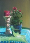 Obras de arte:  : España : Catalunya_Barcelona : Castelldefels : Un pequeño rosal