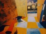 Obras de arte: America : Ecuador : Azuay : Cuenca : A LA NOCHE