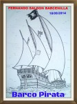 Obras de arte:  : Espa�a : Castilla_y_Le�n_Palencia : palencia : VELERO PIRATA