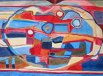 Obras de arte: Europa : Francia : Languedoc-Roussillon :  : Observaci�n - Cuadro abstracto