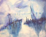 Obras de arte:  : Argentina : Buenos_Aires : Avellaneda : Tempestad Azul.