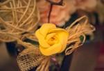 Obras de arte: Europa : España : Catalunya_Barcelona : Viladecans : Flor amarilla