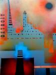 Obras de arte: Europa : España : Andalucía_Granada : Motril : Detróit en Llamas