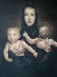 Obras de arte: America : Colombia : Antioquia : Medellín : La viuda