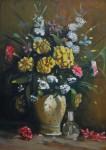 Obras de arte:  : Ecuador : Azuay : Cuenca : Bodegón flores