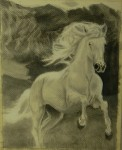 Obras de arte: Europa : España : Andalucía_Granada : almunecar : caballo terry