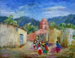 Obras de arte: America : Argentina : Salta : Salta_ciudad : COLGADO DEL CIELO - Cuesta Azul, Salta