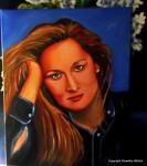 Obras de arte: Europa : España : Canarias_Las_Palmas : Maspalomas : Meryl Streep
