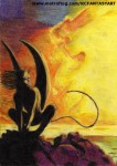Obras de arte: America : Argentina : Catamarca : San_Fernando_del_Valle : Devil & sunset