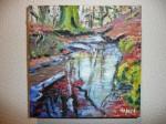 """Obras de arte:  : España : Comunidad_Valenciana_Castellón : castellon_ciudad : """"Reflejos en el Bosque"""""""