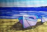 Obras de arte: Europa : España : Castilla_y_León_Burgos : burgos : Barcas