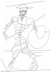 Obras de arte: Europa : España : Catalunya_Barcelona : Viladecans : Quijote